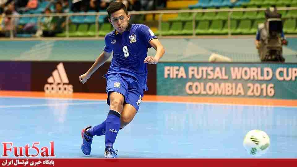 بازیکن تایلندی جانشین ملی پوش فوتسال ایران در تیم بانک بیروت