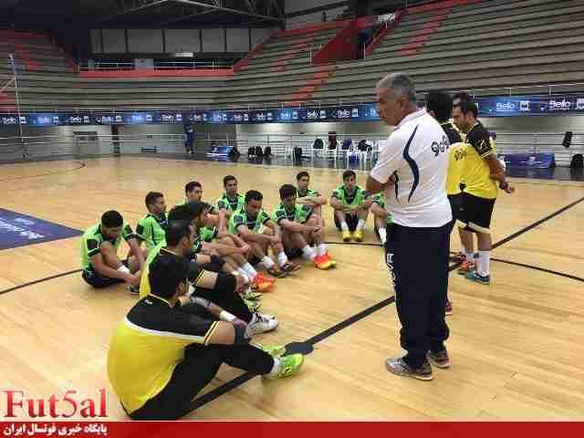 رونمایی از بدنسازی عالی تیمملی در بازی با برزیل