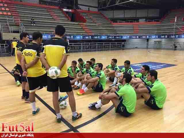 پیگیری تمرینات تیم ملی در غیاب بهادری/گزارش تصویری