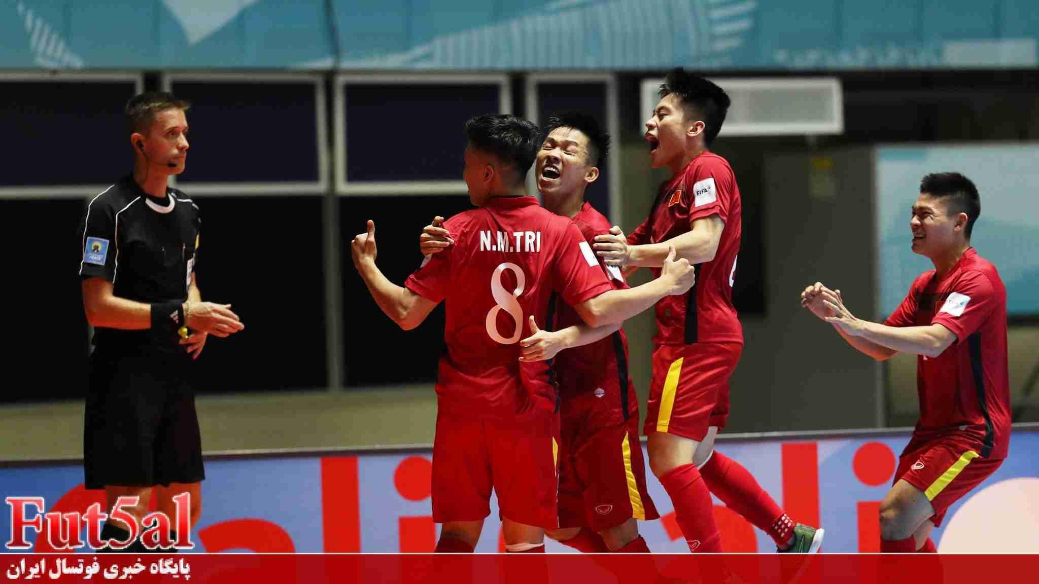 ویدئو/ بازی تیم های تایسون نام ویتنام و ارم قرقیزستان