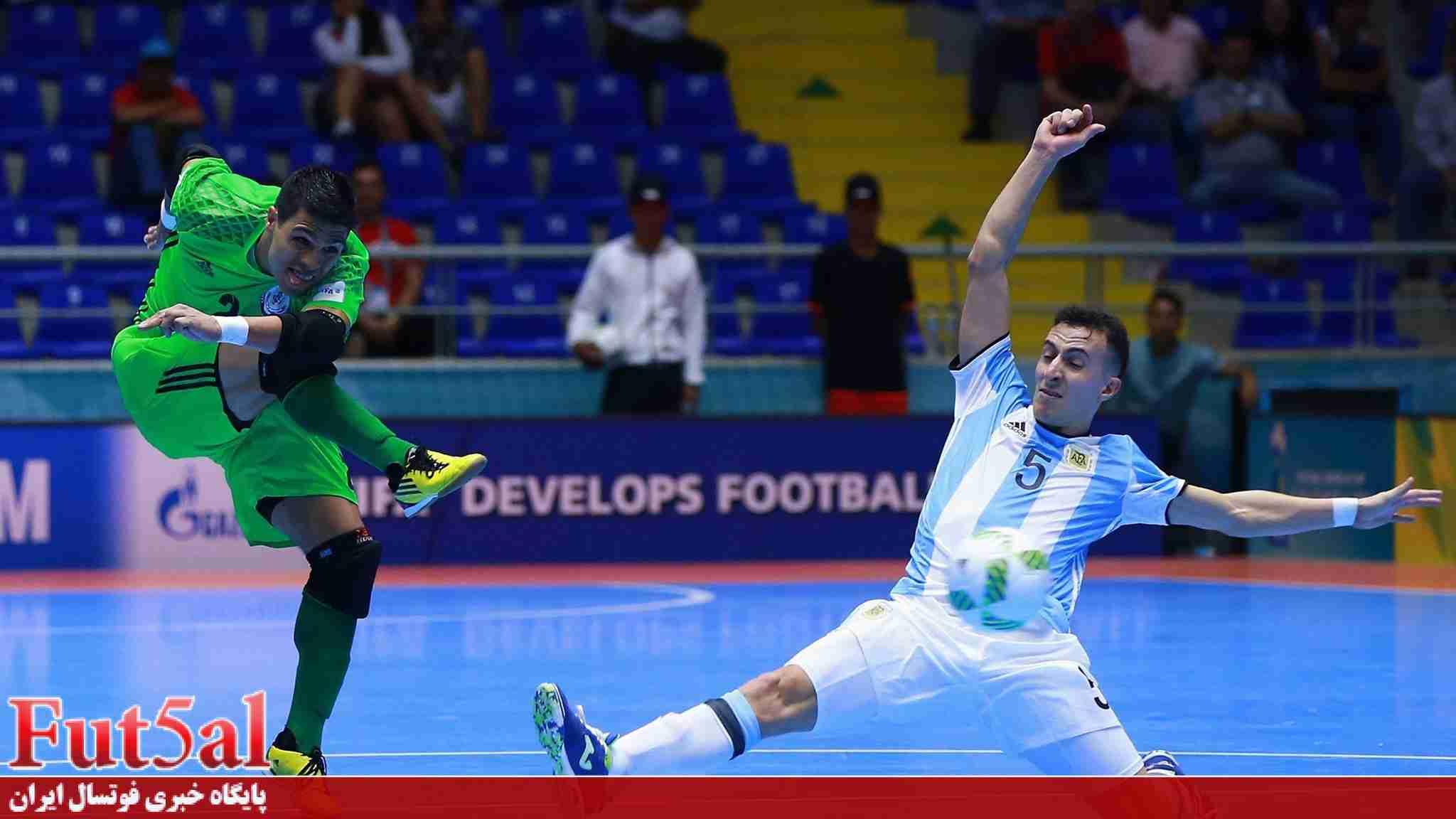 تیم ملی فوتسال برزیل به دنبال بازی با آرژانتین
