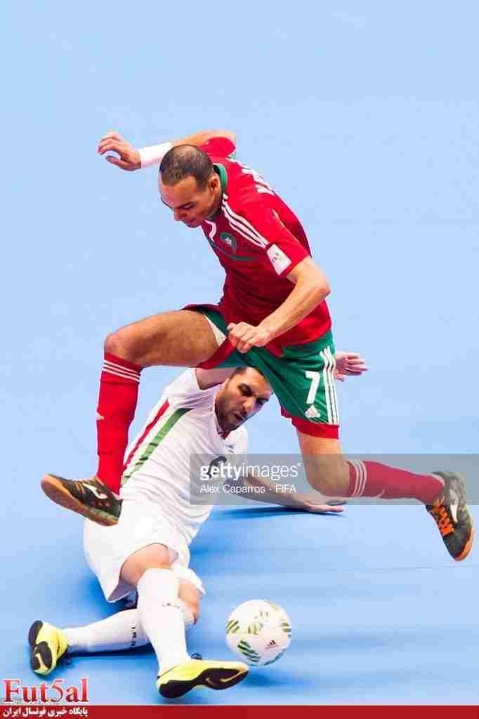 پاسخ منفی تیم ملی فوتسال ایران به مراکش
