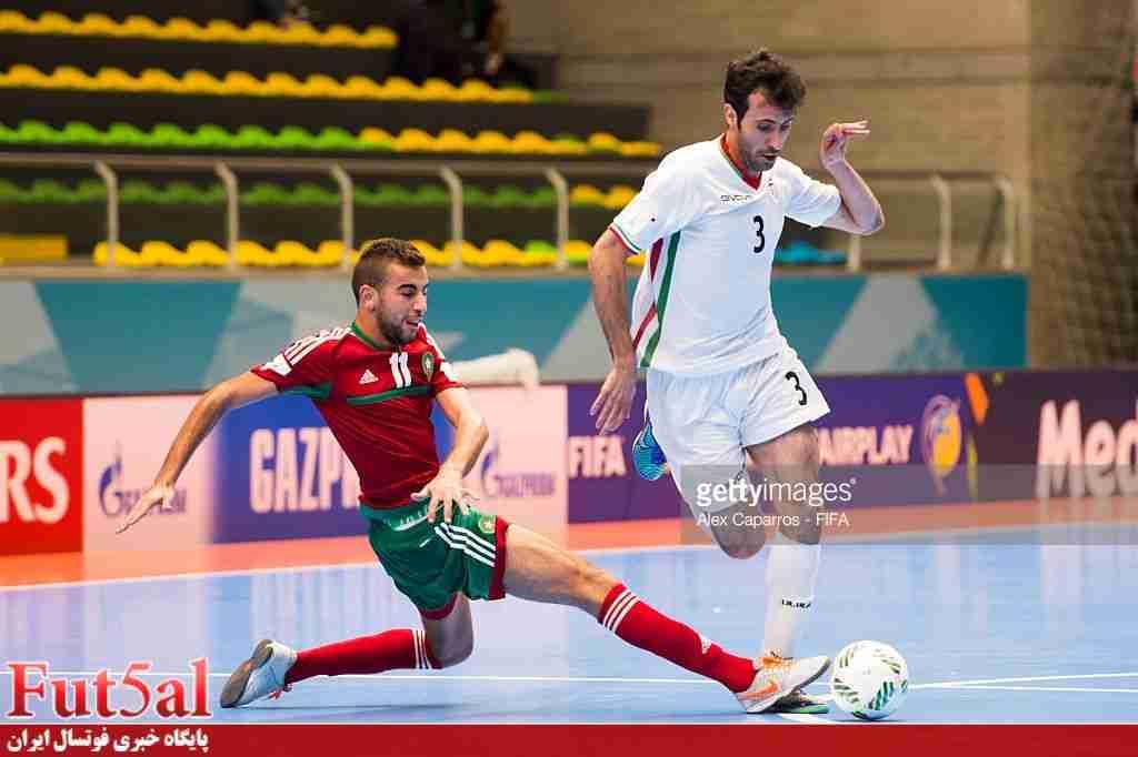 شکست خفیف ایران مقابل برزیل در نیمه اول/ بازی خوب ملی پوشان باعث پیروزی نشد
