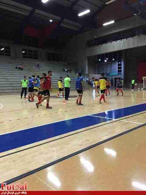 گزارش تصویری/تمرین تیم ملی در کلمبیا