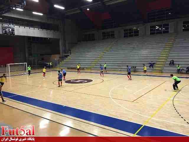 تمرین رسمی تیم ملی در سالن اصلی مسابقات/حضور ناظم الشریعه در کنفرانس مطبوعاتی