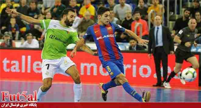 شکست سنگین پالما مقابل بارسلونا