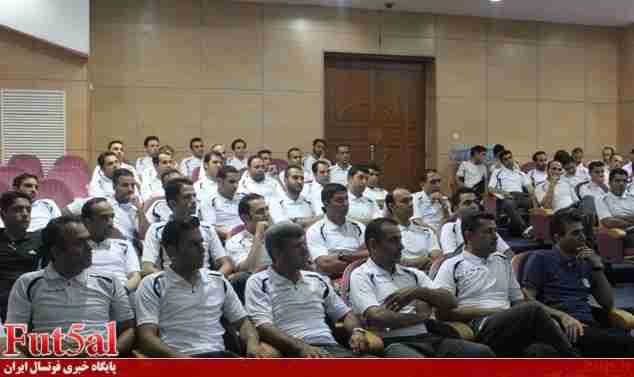 برگزاری کلاس نمایندگان فوتسال به صورت وبینار