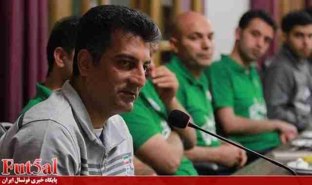 صانعی:مصاف مقابل دو ابرقدرت فوتسال بدون تدارک مناسب سخت است/بازی دوستانه با برزیل به دلیل شرایط اقتصادی لغو شد