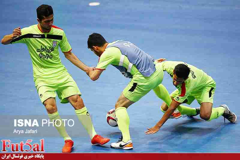 اردوی آماده سازی تیم ملی فوتسال المپیک از ۲۴ بهمن ماه
