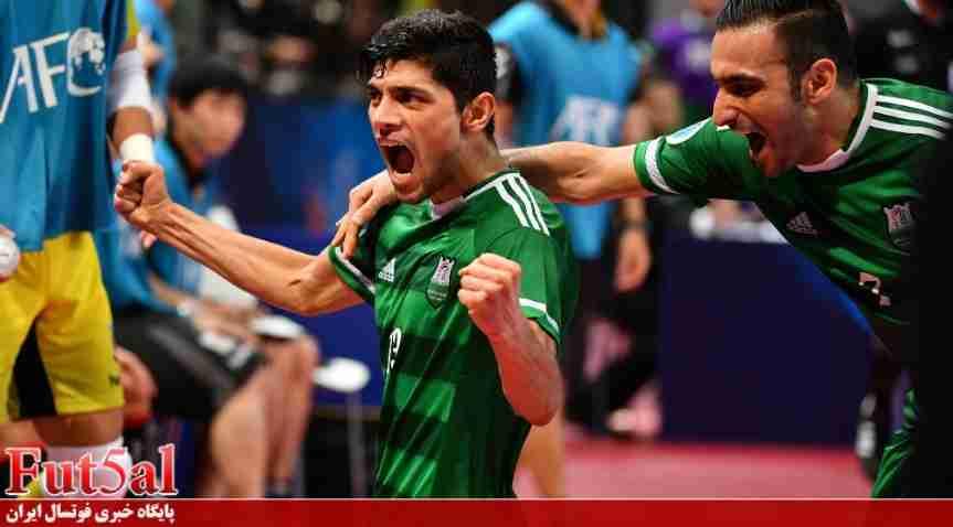 اردوی نفت عراق با بازیکنان ایرانی در قطر