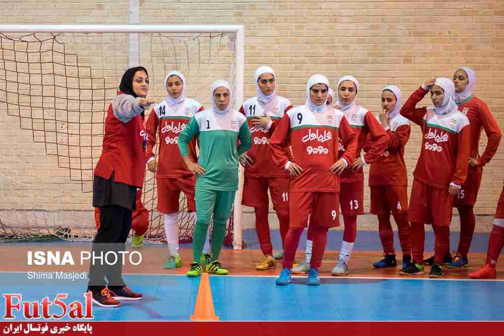 برگزاری اردوی تیم ملی فوتسال بانوان