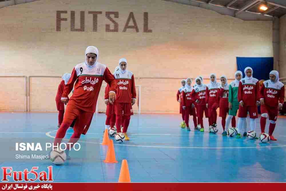 اعلام زمان دیدار دوستانه تیم های ملی فوتسال بانوان ایران و ایتالیا