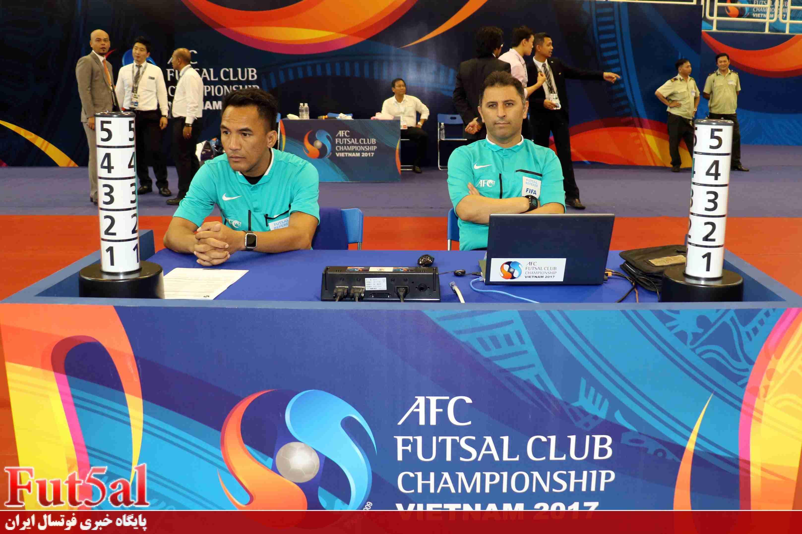 نصیرلو: ترجیح میدهم فینال سوت نزنم اما نماینده کشورم قهرمان آسیا شود