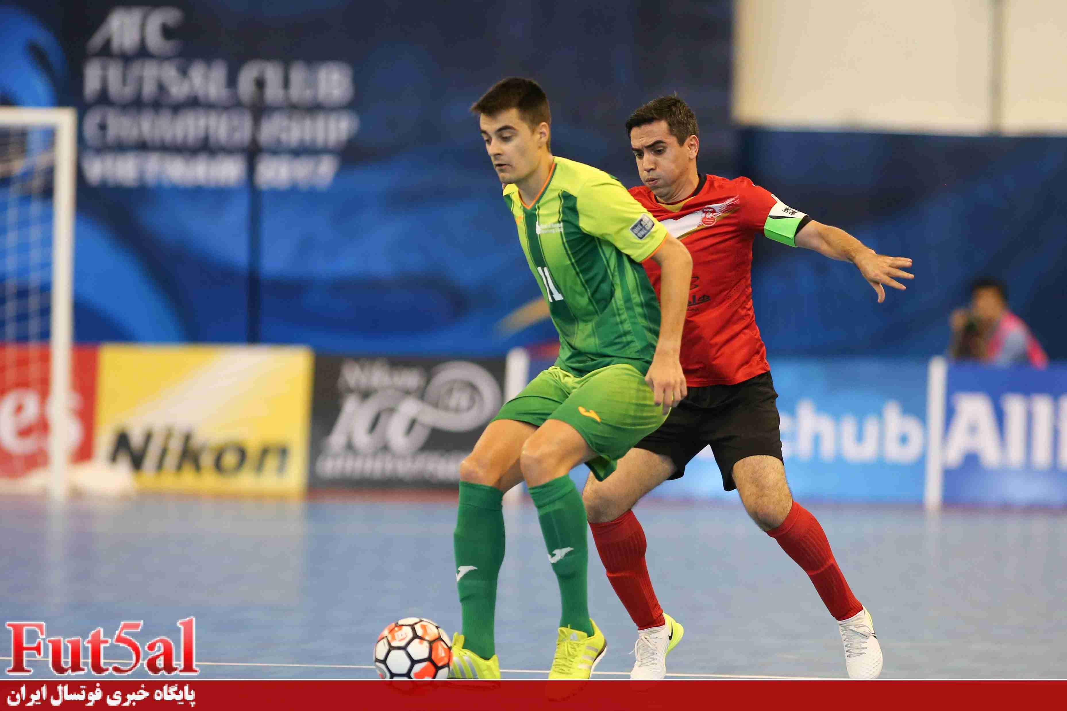 گزارش تصویری/بازی تیم های گیتی پسند اصفهان با بانک بیروت لبنان