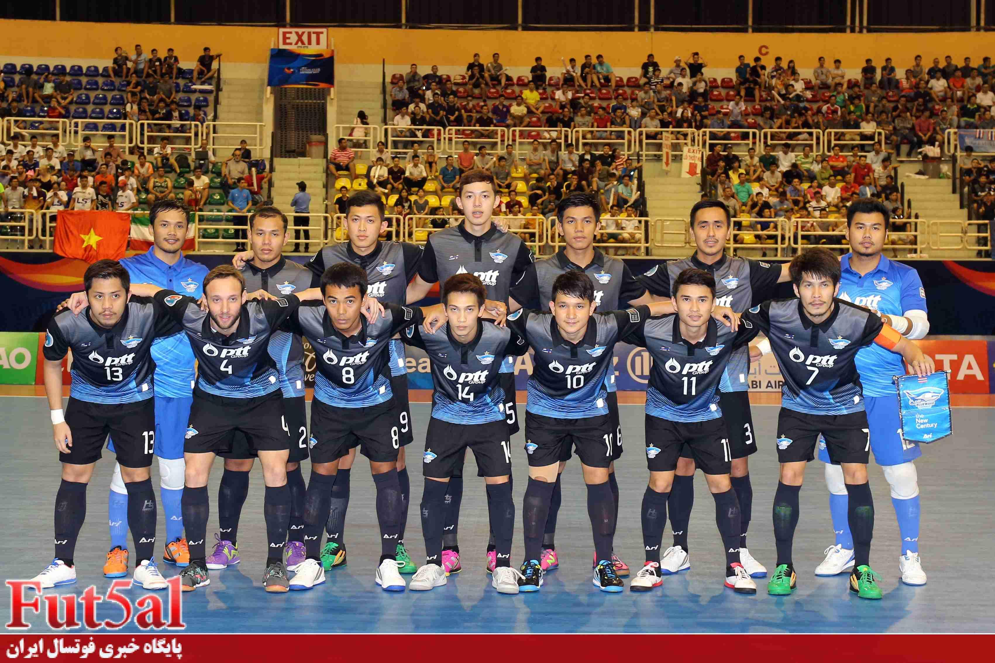 چونبوری تایلند، گربه سیاه تیم های ایرانی