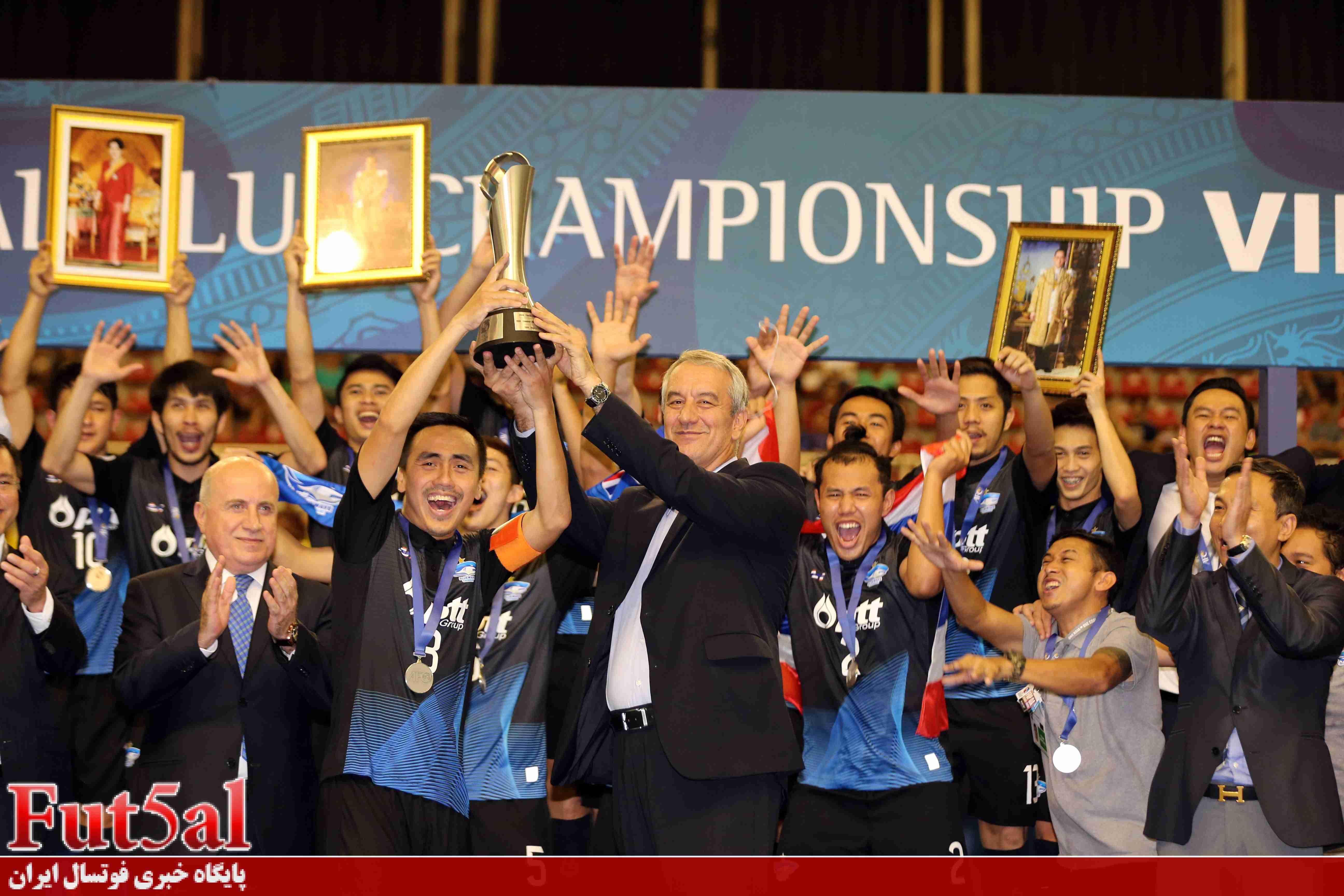 سری اول گزارش تصویری/بازی تیم های گیتی پسند ایران با چونبوری تایلند