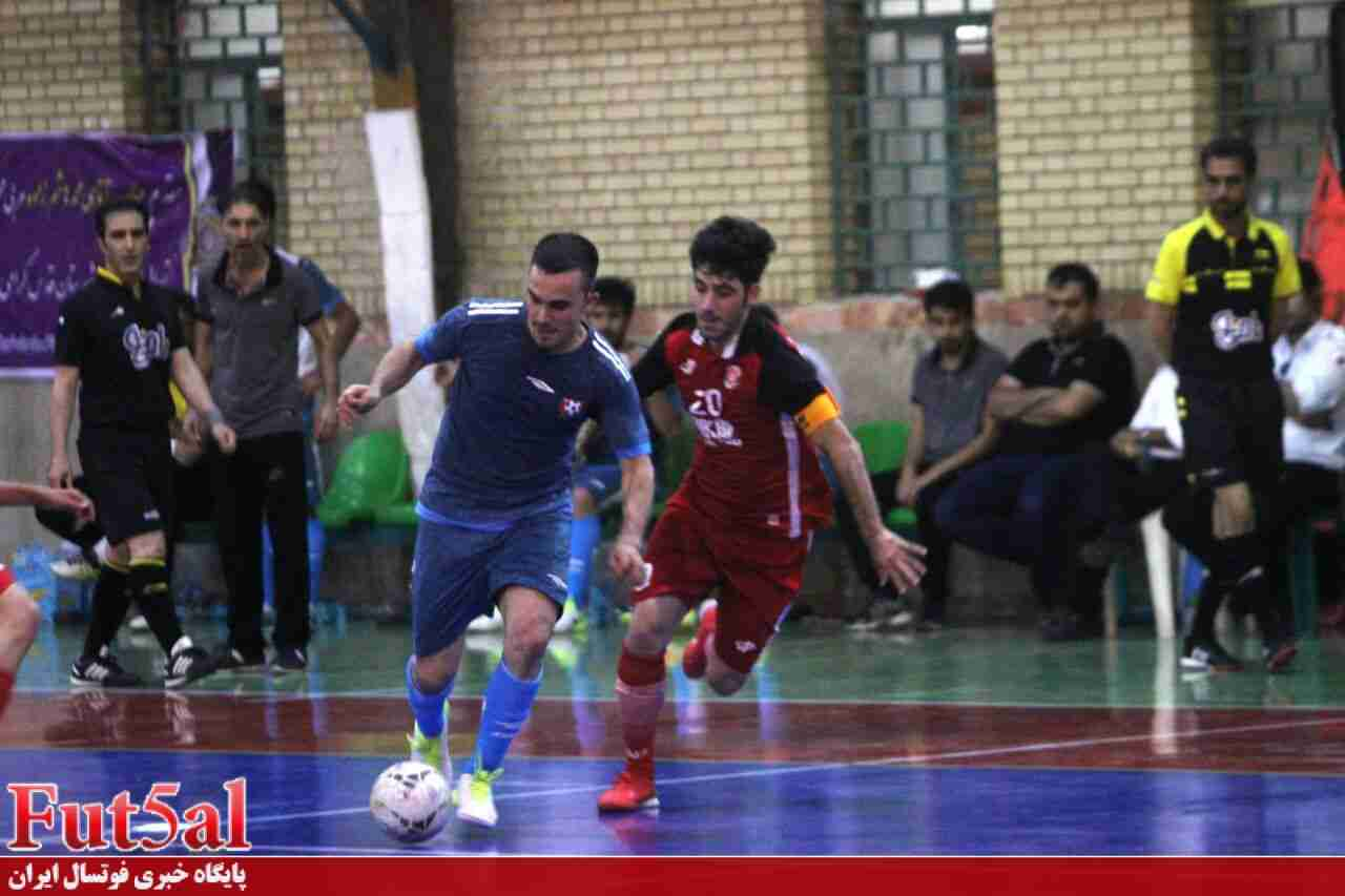نتایج و جدول ردهبندی روز چهارم مرحله نهایی لیگ دسته دوم