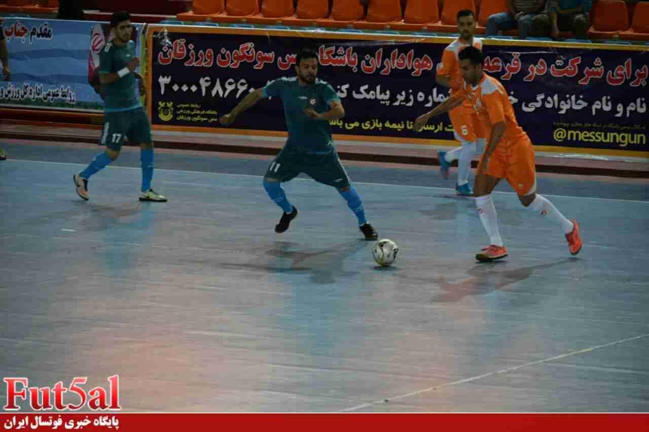گزارش تصویری/ بازی تیم های مس سونگون و آتلیه طهران قم