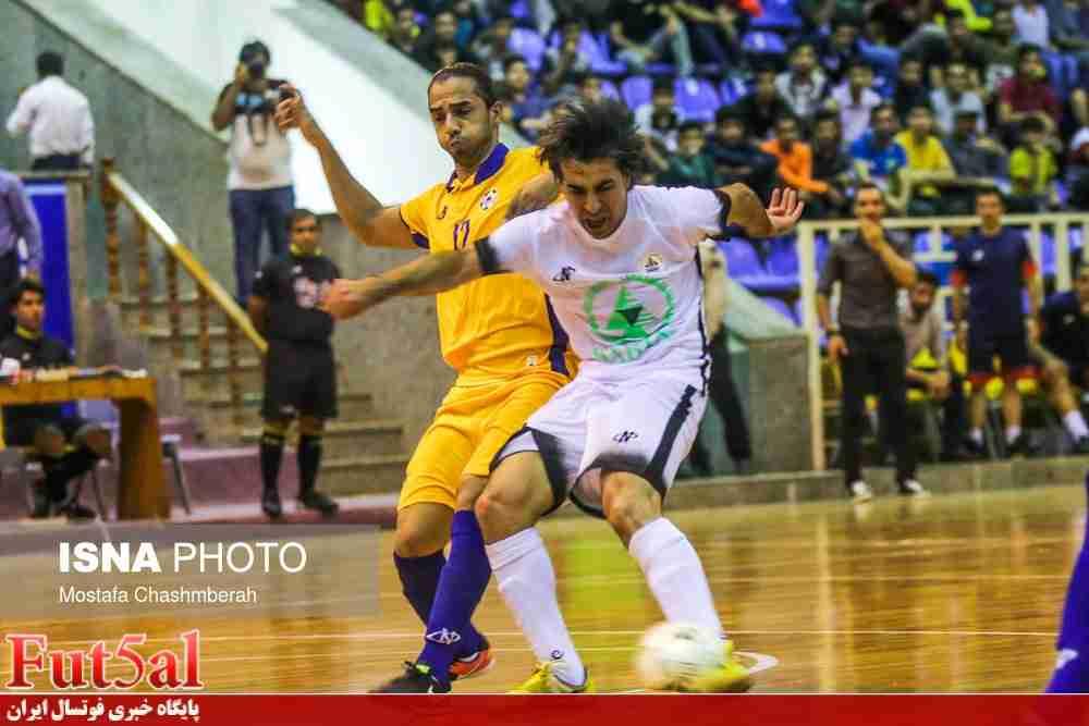 گزارش تصویری/بازی تیم های آذرخش بندرعباس با تاسیسات دریایی تهران