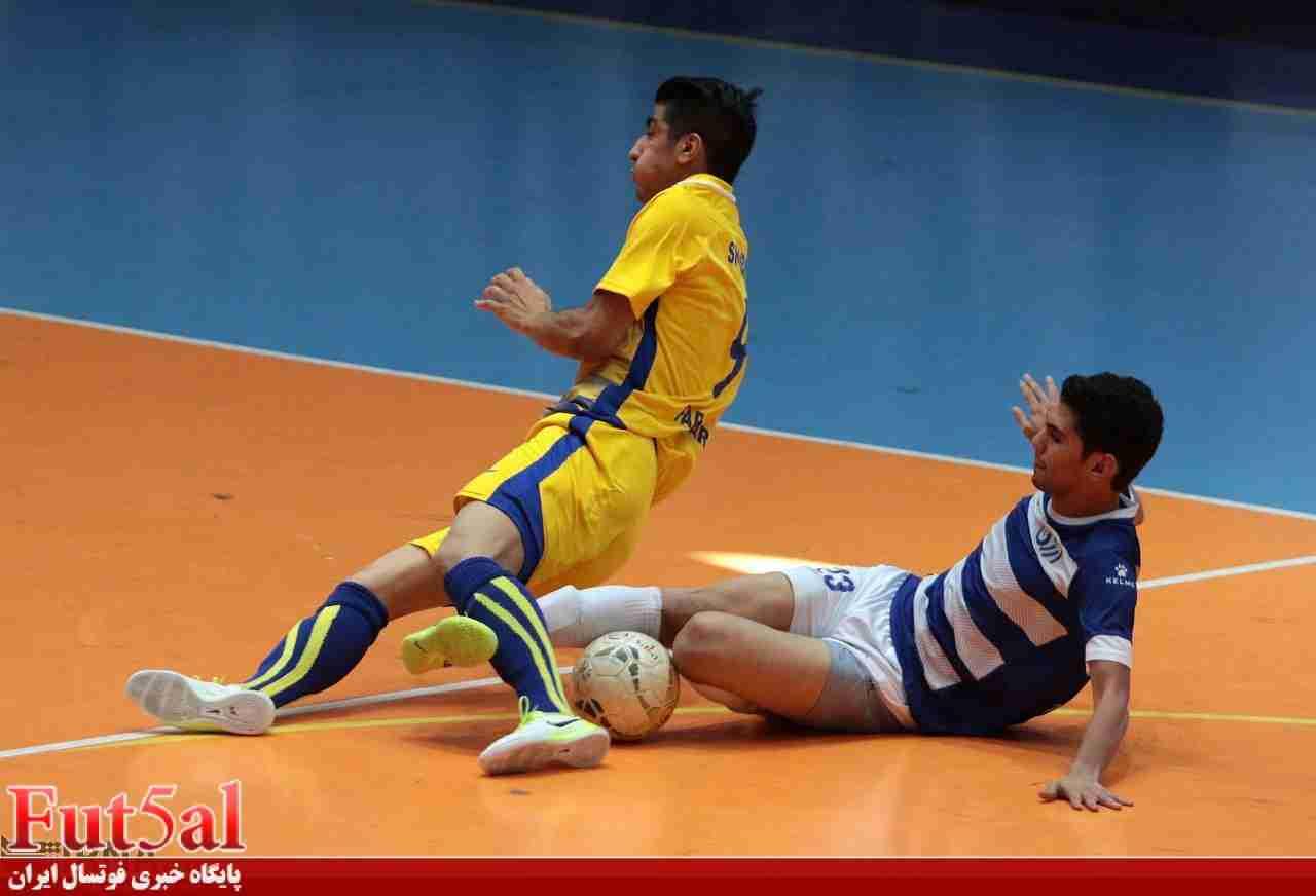 گزارش تصویری/بازی تیم های فرش آرای مشهد با ارژن شیراز