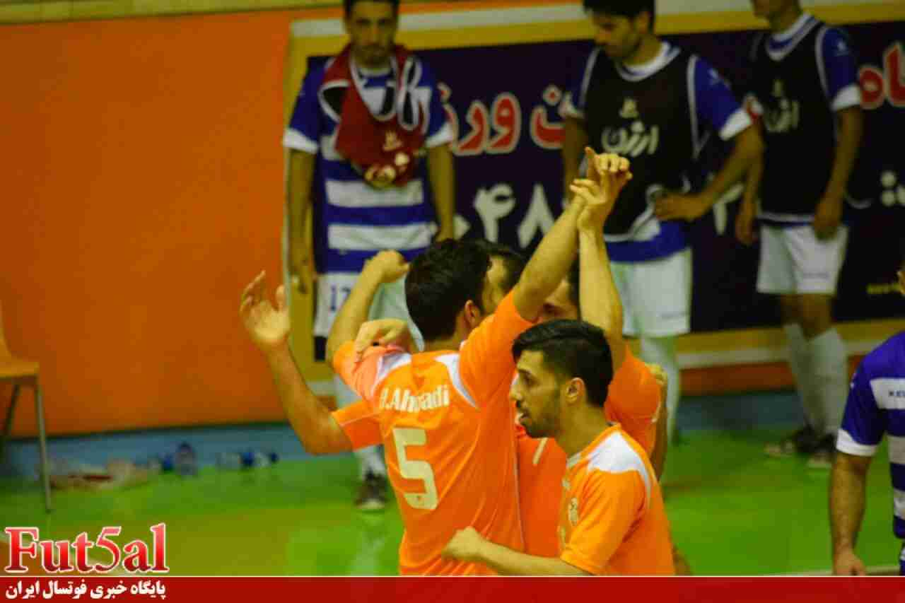 گزارش تصویری/ بازی تیم های مس سونگون و ارژن شیراز