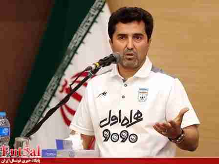ناظم الشریعه: درتورنمنت تبریز از بازیکنان جوان تیم ملی «ب» استفاده خواهیم کرد