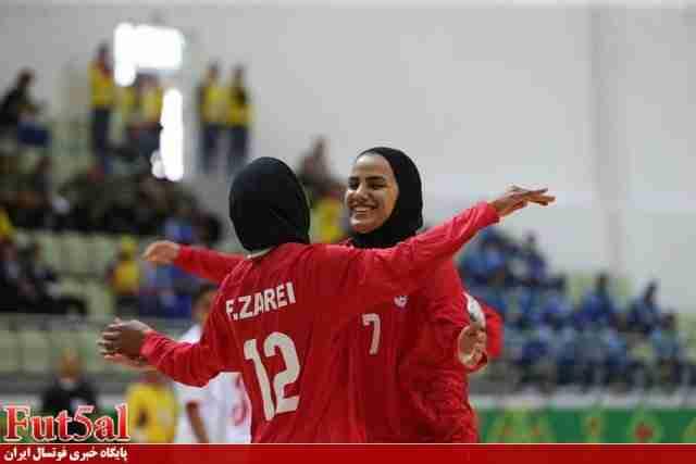 پیروزی دختران فوتسال ایران مقابل ایتالیا