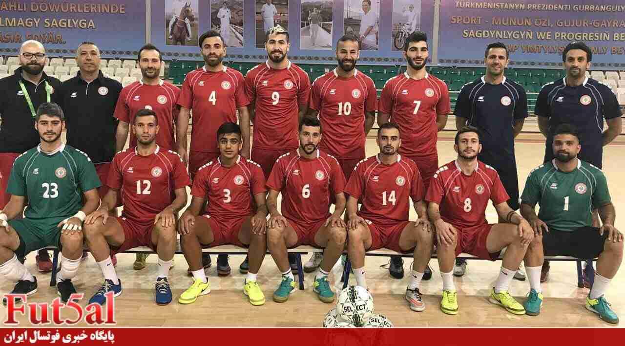 لبنان با سفال منش به مرحله نهایی فوتسال قهرمانی آسیا راه یافت
