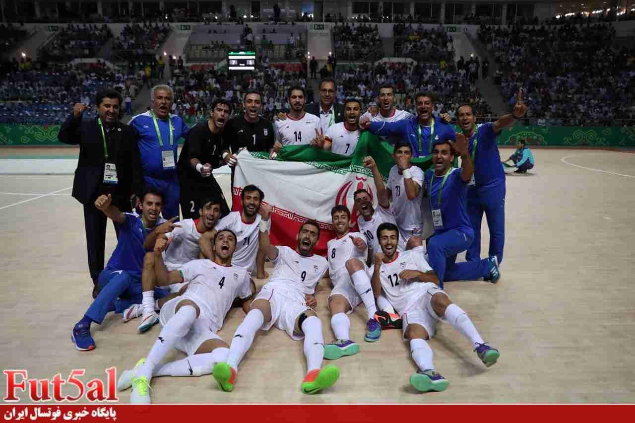 گزارش تصویری/ جشن قهرمانی تیم ملی فوتسال