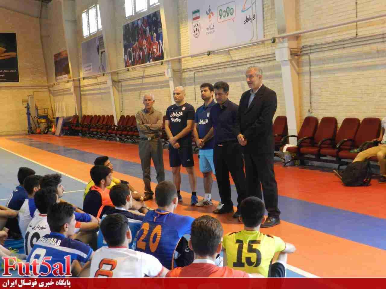 تمرینات تیم ملی فوتسال زیر ۲۰ سال لغو شد