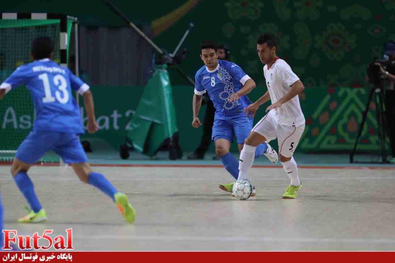 گزارش تصویری/بازی تیم های ایران و ازبکستان
