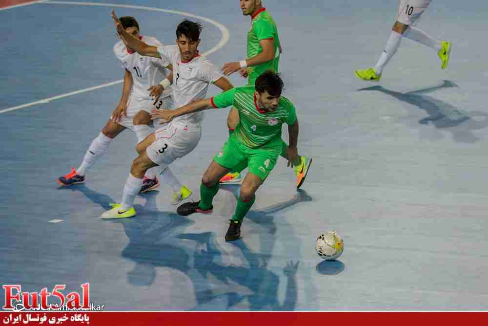 گزارش تصویری دوم/بازی تیم های ایران با تاجیکستان