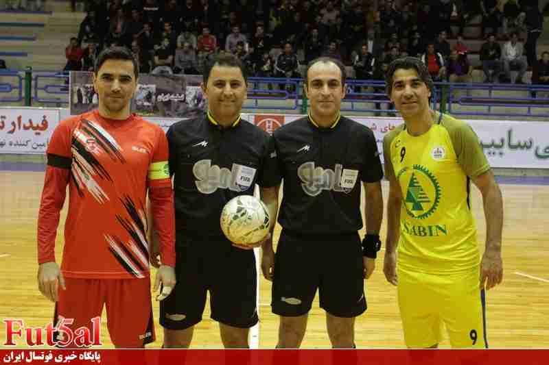 قضاوت داور ایرانی در مسابقات فوتسال قهرمانی باشگاههای آسیا