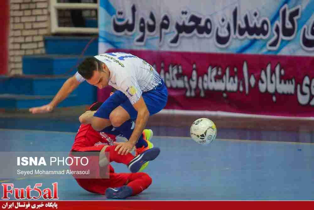 گزارش تصویری/بازی تیم های فرش آرای مشهد با آتلیه طهران قم