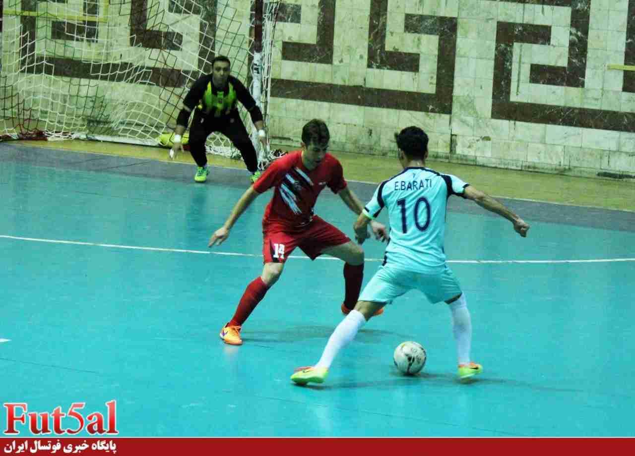 نیمه تمام ماندن بازی تیمهای مقاومت البرز با راگای تهران
