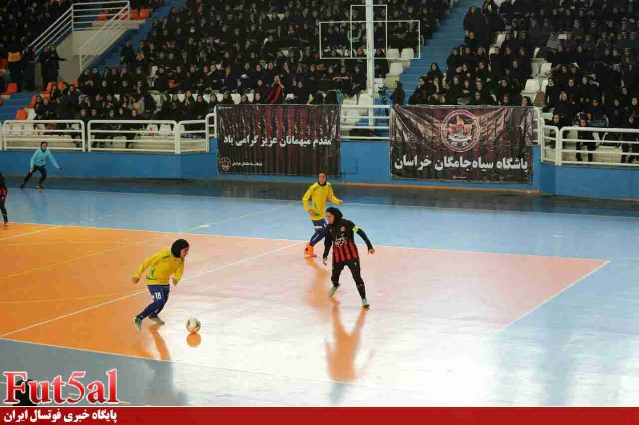 اعلام برنامه سه هفته از رقابتهای لیگ برتر فوتسال بانوان