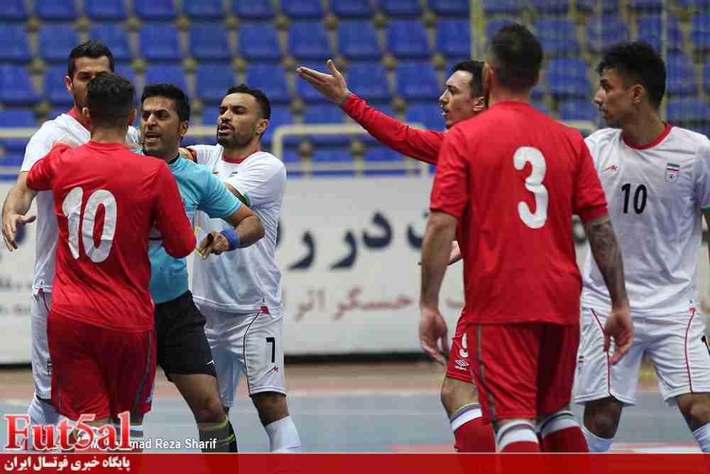 سری چهارم؛ گزارش تصویری/ توقف تیم ملی در برابر آذربایجان