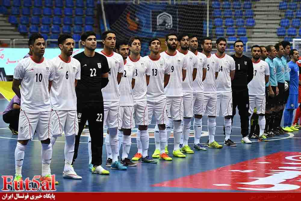 ترکیب نهایی تیم ملی برای فوتسال قهرمانی آسیا را بشناسید
