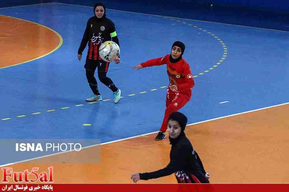 گزارش تصویری/بازی تیم های بانوان مشکی پوشان مشهد با نفت طلائیه تهران