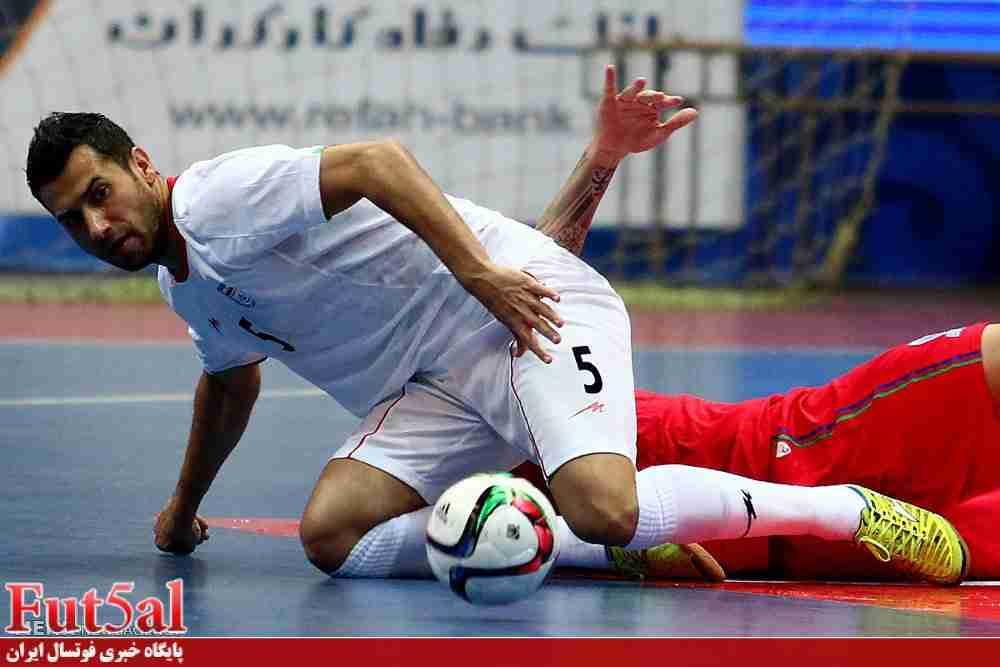 حمید احمدی فوتسال قهرمانی آسیا را از دست داد