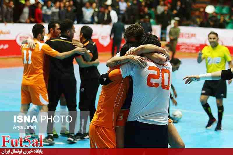 گزارش تصویری/بازی تیم های گیتی پسند اصفهان با مس سونگون