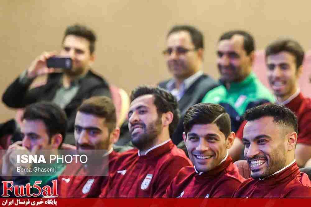 گزارش تصویری/بدرقه تیم ملی فوتسال