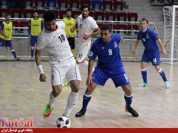 گزارش تصویری/ دومین بازی تیم ملی ایران با آذربایجان