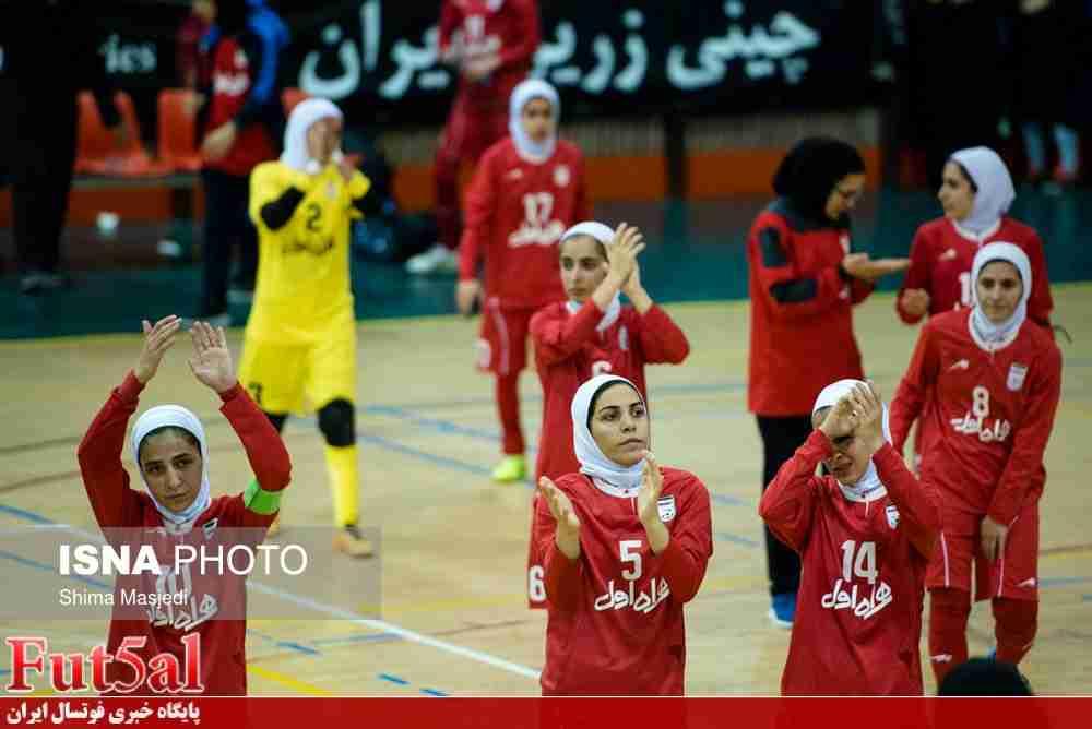 دومین پیروزی دختران ایران مقابل چین