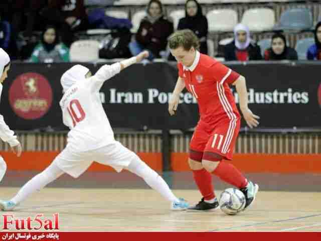پیروزی بانوان روسیه در دومین بازی تدارکاتی مقابل ایران