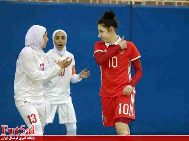 گزارش تصویری/بازی اول تیم های بانوان ایران و روسیه