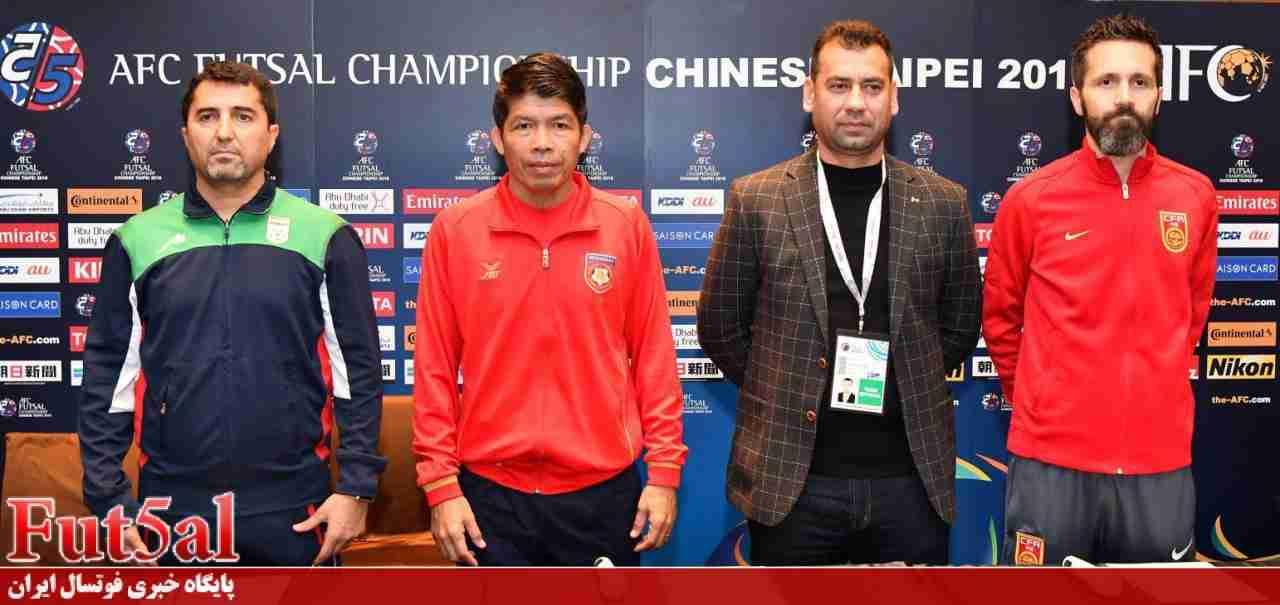 ناظم الشریعه: به میانمار در اولین بازی احترام میگذاریم/ سرمربی میانمار: تیم جدیدی هستیم