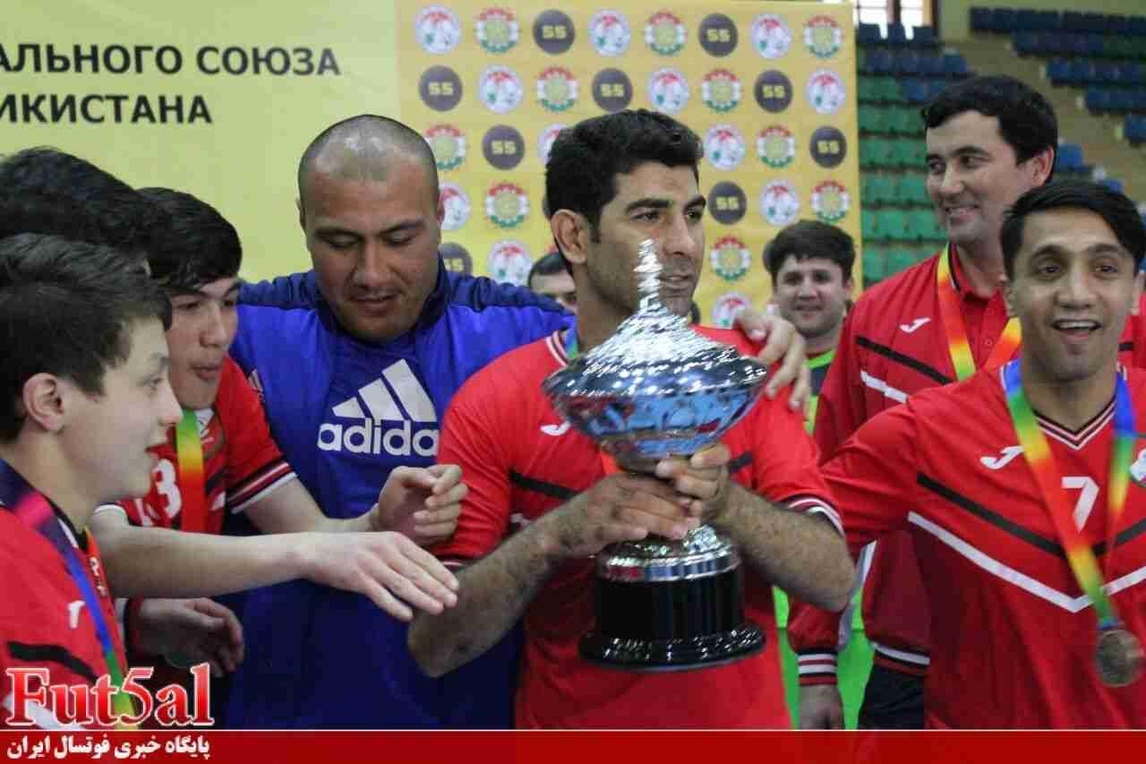 قهرمانی سپر با لژیونرهای ایرانی در جام حذفی تاجیکستان + عکسها