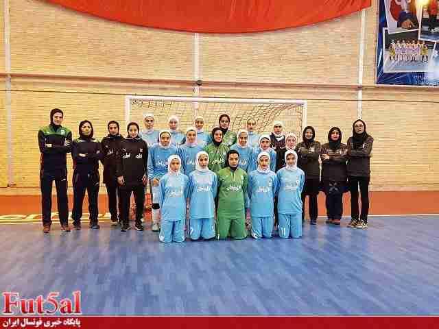 برد تیم ملی جوانان بانوان در دیدار دوستانه