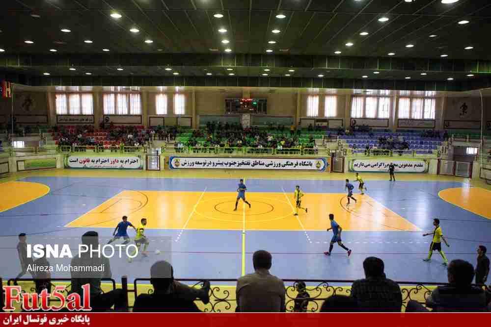 گزارش تصویری/بازی تیم های حفاری خوزستان با سن ایچ ساوه